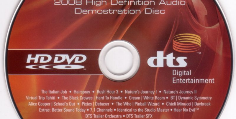 High Definition DVD – The Format War's Second Act