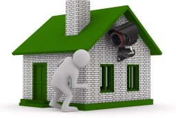 Monitored Home Security System
