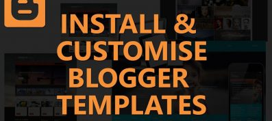 How to Find and Install a Blogger Template