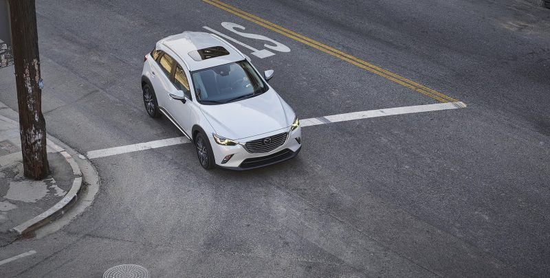 2018 Mazda CX-3: Dynamic little CUV receives tech, refinement updates